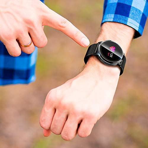 KawKaw Q8A - Reloj inteligente para hombre y mujer, IP67 ...