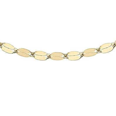 Carissima Gold Women's 9 ct Yellow Gold Forzatina Chain of Length 51 cm