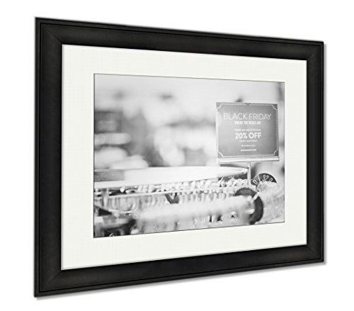 Ashley Framed Prints Shopping On Black Friday, Modern Room Accent Piece, Black/White, 34x40 (frame size), Black Frame, - Mall Meadows Park Colorado
