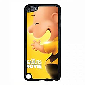 Ipod Touch 5th Generation the peanuts movie phone case 115 Snoopy and Charlie Brown phone case black cover case for Ipod Touch 5th Generation