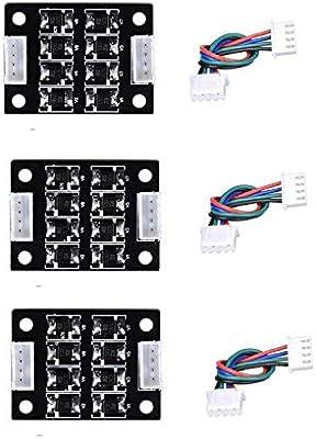 TL-Smoother Módulo Adicional 3D Impresora 3pcs, Smoother Kit Addon ...