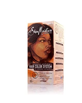 Shea Moisture Hair Color System - DARK BROWN