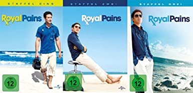 Royal Pains- Staffel 1-3 im Set - Deutsche Originalware [13DVDs]