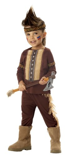 [California Costume Collection - Lil' Warrior Toddler / Child Costume] (Toddler Indian Costumes)