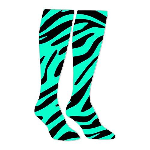 Knee High Stockings Awsome Backgrounds Zebra Long Socks Sports Athletic for Man and Women ()
