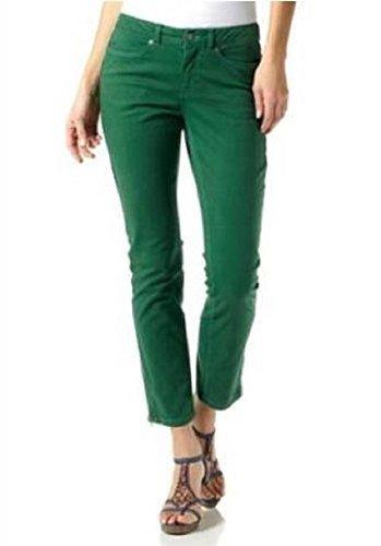 Pantalones en Forma tubular de Laura Scott en verde Green