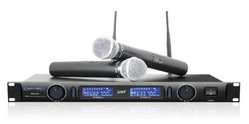 Technical Pro WM1201 Professional UHF Dual Wireless Micropho