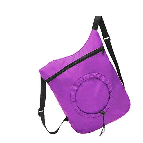 Oath_song - Bolso mochila para mujer M morado