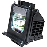 Mitsubishi WD73734 Rear Projector TV Assembly with OEM Bulb and Original Housing