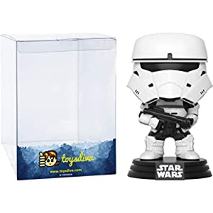 Combat Assault Tank Trooper (2017 Summer Con Exc): Funk o Pop! Vinyl Figure Bundle with 1 Compatible 'ToysDiva' Graphic Protector (184 – 14720 – B)