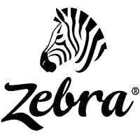 Zebra Technologies 10008510 Z-Ultimate 2000T Polyester Label, Thermal Transfer, Perforated, 1 x 0.5, 3 Core, 8 OD, 9420 Labels per Roll (Pack of 4)