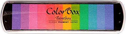 Clearsnap Colorbox Pigment Paintbox 2-Option Pad, Pastel, 12 Colors Per Pad