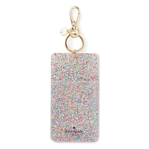 Kate Spade New York Womens Why Hello Glitter Id Clip  Multi