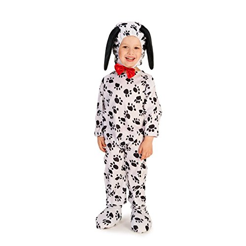 Dalmatian Toddler Costume 2-4T (Dalmatian Halloween Costume For Baby)
