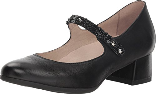Dansko Women's Pearlina Mary Jane Black Burnished Nubuck Size 41 Regular EU