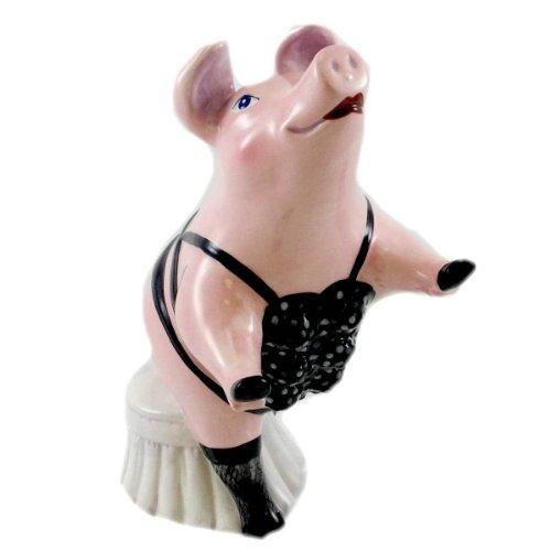 Bank SEXY SOW Ceramic Pig Lingerie Ham 24949