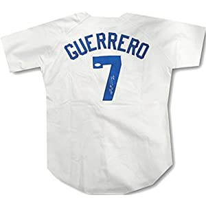 Alex Guerrero Hand Signed Autograph White Home Jersey Los Angeles Dodgers #7 JSA