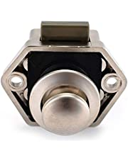Practical Camper Car Push Lock Diameter 20mm RV Caravan Boat Motor Home Cabinet Drawer Latch Button Locks for Furniture Hardware