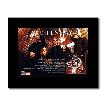Music Ad World ARCH ENEMY - The Root Of all Evil Mini Poster - 21x13.5cm