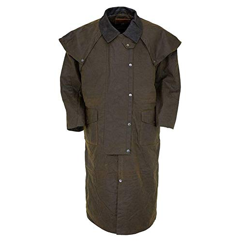 (Outback Trading Stockman Duster L Bronze)