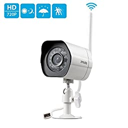 Zmodo 720P HD Smart Wireless Surveillance Camera Wifi Outdoor Security Camera