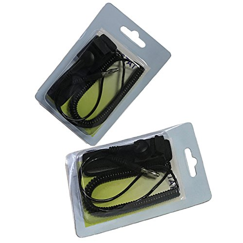 Replacement Foot Bath (Wrist Strap For Ionic Detox Foot Bath Spa Systems by Zinger---2 Pack)