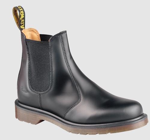 Womens Doc Martens (Dr. Martens 2976 Chelsea Boot,Black Smooth,10 UK (Women's 12 M US/Men's 11 M US))