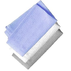 Aquasentials Exfoliating Bath Cloth (4 Pack)