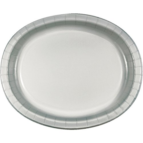 Creative Converting Platters Shimmering Silver