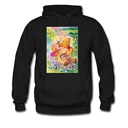 Winnie the Pooh Custom Women's Hoody Hoodie Hooded Sweats...