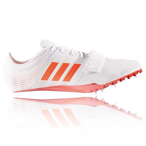 adidas Adizero Accelerator, Zapatillas de Atletismo Unisex Adulto Blanco