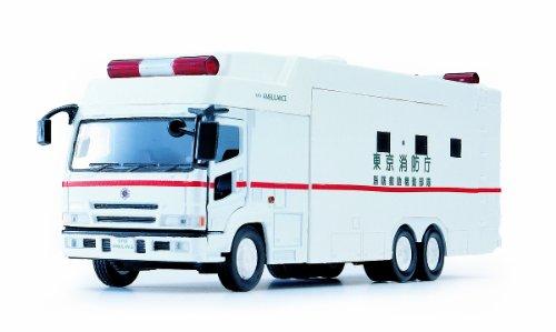 1/54 スーパーアンビュランス(ホワイト×レッド) 「ダイヤペット 緊急車両コレクション」