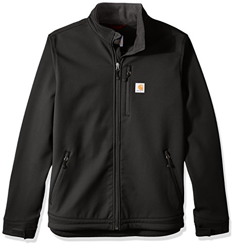 Carhartt Men's Big & Tall Crowley Jacket, Black, Large/Tall