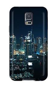 KmyQzBU4234mPygZ Case Cover Amazing Dubai Marina Galaxy S5 Protective Case