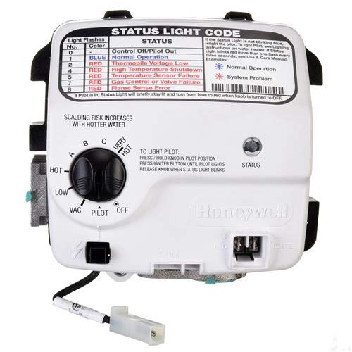 (SP20832B Gas Control (Thermostat) - NG, Includes AP16910B)