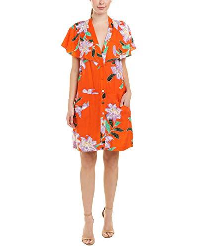 Diane von Furstenberg Women's Argos Clementine Dress, Argos Clementine, Medium from Diane von Furstenberg