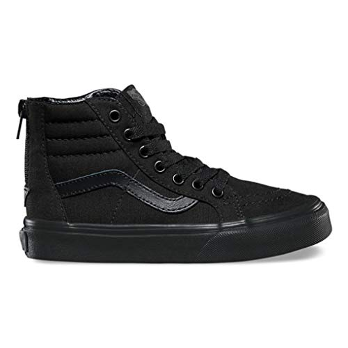 Vans Kids Boys' Sk8-Hi Zip (Little Big Kid), (Pop Check) Black, 11.5 M (Vans Sk8 Hi Zip)