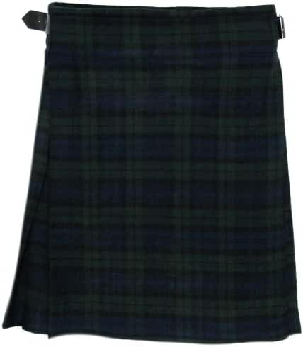 Black Watch 5 Yard 10 oz Scottish Highland KILT (Formal & Everyday) 30-54