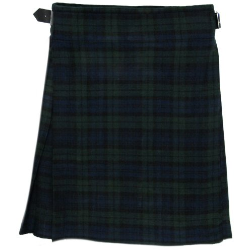 Black Watch 5 Yard 10oz KILT - Waist Drop Pleats Skirt