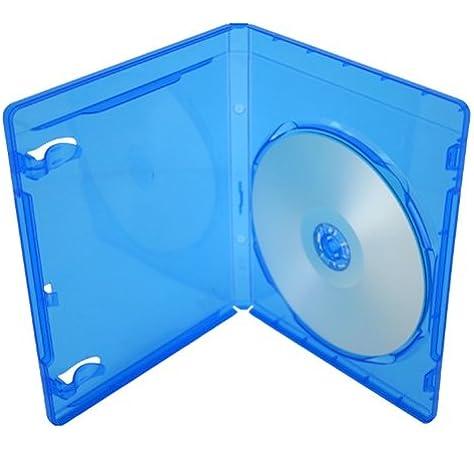 Blu-ray 11 mm cajas de almacenaje para único (1) con logotipo de discos (25 unidades) de dragón Trading: Amazon.es: Electrónica