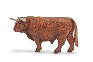 Schleich 13658  -  Figura/ miniatura Agrícolas, las tierras altas de Escocia toro