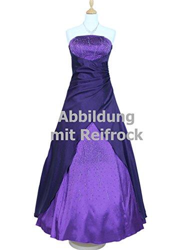 amp; Ballkleid Langes Lila Christine Damen 56 Gr vers JuJu Diamante Abendkleid Satin Farben Star 34 Sxdpwq0w