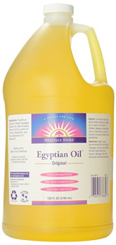 Heritage Store Body Oil, Original Egyptian, 128 Ounce by Heritage Products