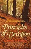 Principles of Devotion, Charles G. Finney, 0871238721