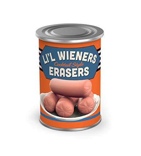 Fred Uncanny- Weenie Erasers, Set of 6