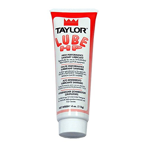 Taylor 48232 Red Tube Soft-Serve Lubricant - 1 / TB