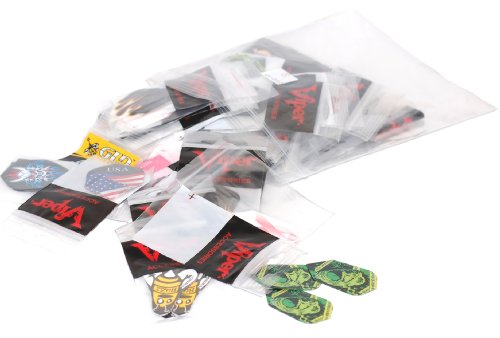 Viper Assorted Poly Pro Dart Flights: 50 Sets of Mixed (Standard and Slim) Flights, 150 Pieces