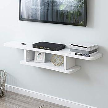 Amazon Com Floating Shelf Wall Shelf Wall Mounted Tv