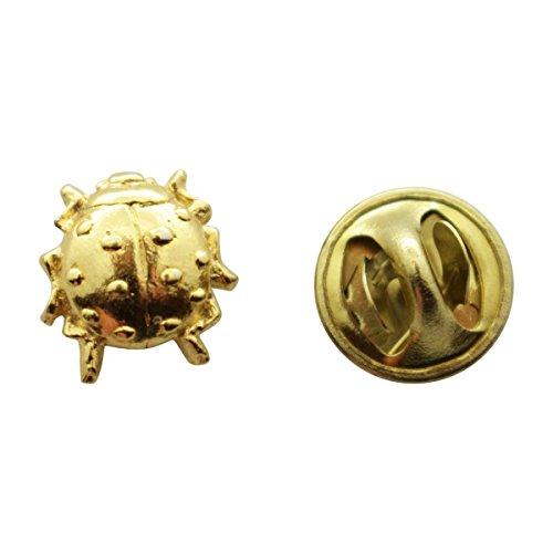 Ladybug Mini Pin ~ 24K Gold ~ Miniature Lapel Pin ~ Sarah's Treats & (Ladybug Fashion Pin)