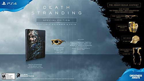 Death Stranding - PlayStation 4 Special Edition (New Games Video Releases)